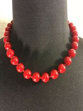 Red Shell Women's Necklace.