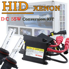 Bi-Xenon 55W Xenon HID Headlight Replacement Conversion KIT H4 H13  9007 Bulb KL