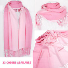 200cm*70cm Women's Long Print Ombre Scarf With Tassels Wrap Shawl Large Scarves