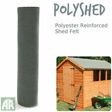 Poly Shed Roofing Felt | Green Mineral Shed Felt | Polyester Reinforced | 5m