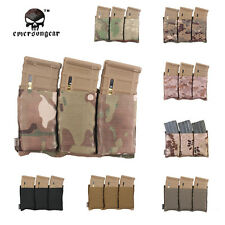 EMERSON M4 Triple Magazine Pouch Molle Tactical Hunting Airsoft Gear CP EM2388