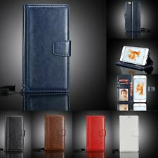Luxury Wallet Case Stand Flip PU Leather Cover For Apple iPhone 6 6S Plus 5S SE