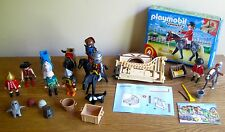 Playmobil Geobra 5110 Set, Horses, Knights, Pirates, Figures, Accessories
