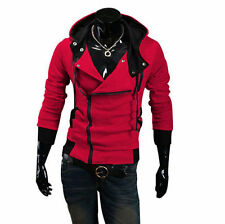 Stylish Creed Hoodie Cool Slim men's Cosplay For Assassins Jacket Costume AA