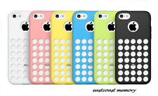 Dotted Ultra Thin Silicone Case Cover for Iphone 5C-USA SELLER FREE SHIPPING