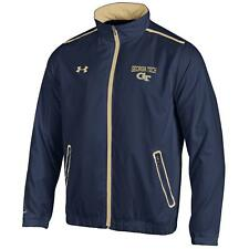 Georgia Tech Yellowjackets Under Armour Impulse Lightweight Full Zip Jacket