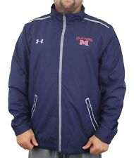 Mississippi Ole Miss Rebels Under Armour Impulse Lightweight Full Zip Jacket