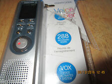 "Memorex Digital Voice Recorder MB 2059 ""D"" 288 Recording Hours Opened package"