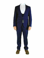 AUSTIN REED Mens Navy Business 3 Three Piece Suit Jacket Waistcoat and Trousers