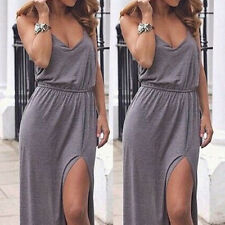 Summer Womens Boho Long Maxi Dress Evening Cocktail Party Beach Sun Dresses BN