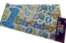 9FT GIANT BIRTHDAY & PARTY BANNERS 12 DESIGNS TO CHOOSE FROM 1ST 18TH 21ST 30TH