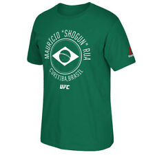 "Reebok Mauricio ""Shogun"" Rua UFC Green Fighter Element T-Shirt - MMA"