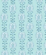Quilting Treasures  Fabric - Lydia by Nicole Tamarin Blue Floral Stripe