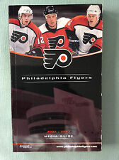 2002-03 PHILADELPHIA Flyers Phantoms Official NHL AHL Yearbook Dual Media Guide