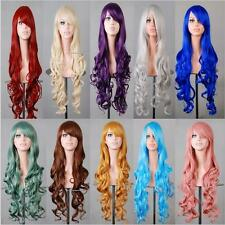 Rbenxia Curly Cosplay Wig Long Hair Heat Resistant Spiral Costume cosplay Wigs