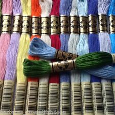 5-45 DMC CROSS STITCH SKEINS/THREADS - CHOOSE YOUR OWN COLOURS