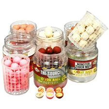 DYNAMITE BAITS CORK BALL POP UPS & WAFTERS 15MM ALL FLAVOURS CARP FISHING BAIT