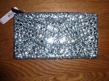VICTORIAS SECRET BLING JEWELED ZIP MULTI-USE COSMETIC/MAKEUP BAG NWT