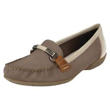 Ladies Rieker Moccasin Style Shoes - 42150