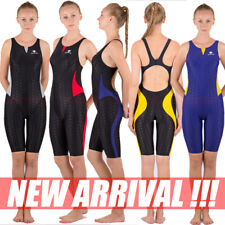 NWT HXBY 511 LADIES TRAINING RACING SWIMMING COSTUME KNEESKIN ALL SIZE FREE SHIP