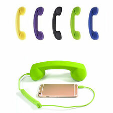 Retro Classic Telephone 3.5mm Cell Phone Handset Phone Receiver for iPhone Hot