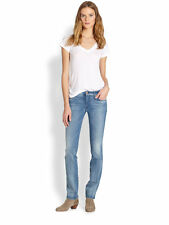 7 For All Mankind Kimmie Straight Leg Medium Wash Jeans - MSRP $198 (Sz 24 & 25)