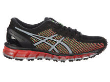 NEW WOMENS ASICS GEL-QUANTUM 360 CHAMELEON RUNNING SHOES TRAINERS BLACK / WHITE