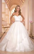 2016 Hot  White/Ivory Wedding Dress Bridal Gown Stock Size 4-6-8-10-12-14-16-16W