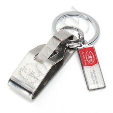 Stainless steel Quick release Keychain Belt Clip key ring snap holder Hot sell