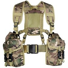 Highlander HMTC Full PLCE Webbing Set - Multi-Colour