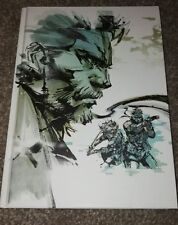 Metal Gear Solid art of the HD Collection rare hardback PlayStation