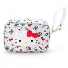 Hello Kitty My Melody Wet Tissue Pouch Cosmetic Bag Purse Sanrio Japan S6142