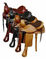 Roping Style saddle made by Buffalo Saddlery