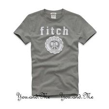 NEW ABERCROMBIE & FITCH KIDS * A&F Boys Bald Peak Graphic Tee T Shirt Grey S M L