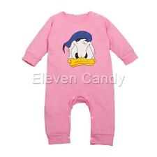Baby Infant Girls Donald Duck Romper One-piece Cotton Jumpsuit Outfits Clothes