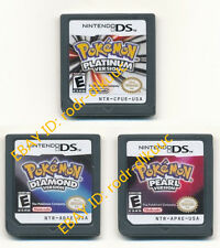 Nintendo Pokemon Platinum, Pearl, Diamond Version Game Card for NDS DSI
