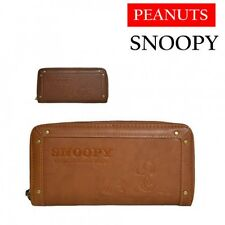 Peanuts Snoopy Long Wallet Clutch Coin Card Case Money Purse from Japan D4043