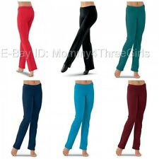 NEW Capezio or Balera Many Colors Tap Jazz Dance Yoga Active Pants Child Adult
