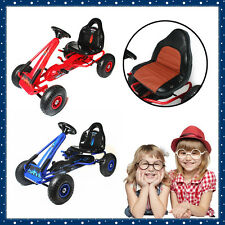 Kids Pedal Powered Go Kart Children Ride on Car Bike Racing Toys Braking System