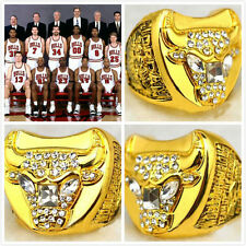 On Sale New 1997 Chicago Bulls  World Championship Ring Michael Jordan Replica