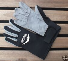Freediving Spearfishing Neoprene Amara Gloves with Leather Palm WIL-AG-01