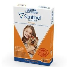 Sentinel Flea and Worm Chew for Dogs - 2 Sizes