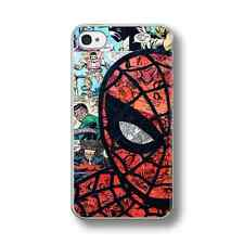 RETRO SPIDERMAN COMIC Hard Phone Case FITS IPHONE MODELS. (1)