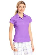 adidas 109 Golf Womens Climalite Solid Sleeveless Polo L- Choose SZ/Color.