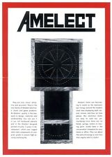 Amelect Electronic Eye Clock Kit & Chimes Kit Assembly Manuals - LED Clock