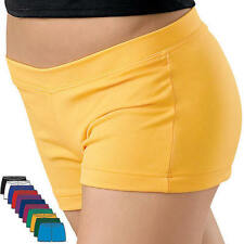 NEW Capezio Dance Gymnastics Cheer Booty Mini Shorts Many Colors Child & Adult