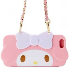 Sanrio Hello Kitty My Melody iPhone 6s 6 Flip Case Cover Bag Purse Japan S6243