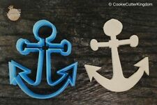 Nautical Anchor Cookie Cutter Multiple Sizes, 3D Printed