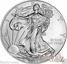 One 2014 Liberty American Silver Eagle .999 Fine Silver Coin GEM BU One Troy Oz