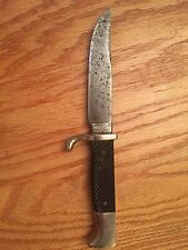 Vintage Buffalo Brand Fixed Blade Knife by Ruko Solingen A7